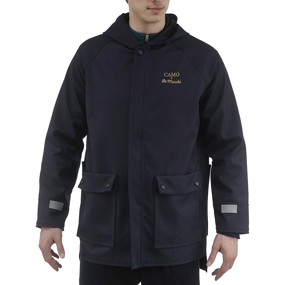 De Marchi Camo Rain Jacket  - Navy - XL, Navy
