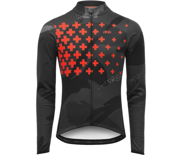 7bf5a3f8f dhb Blok Long Sleeve Jersey - Fade AW18