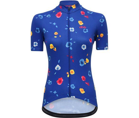4b8aa709883 dhb Blok Womens Short Sleeve Jersey - Floral AW18