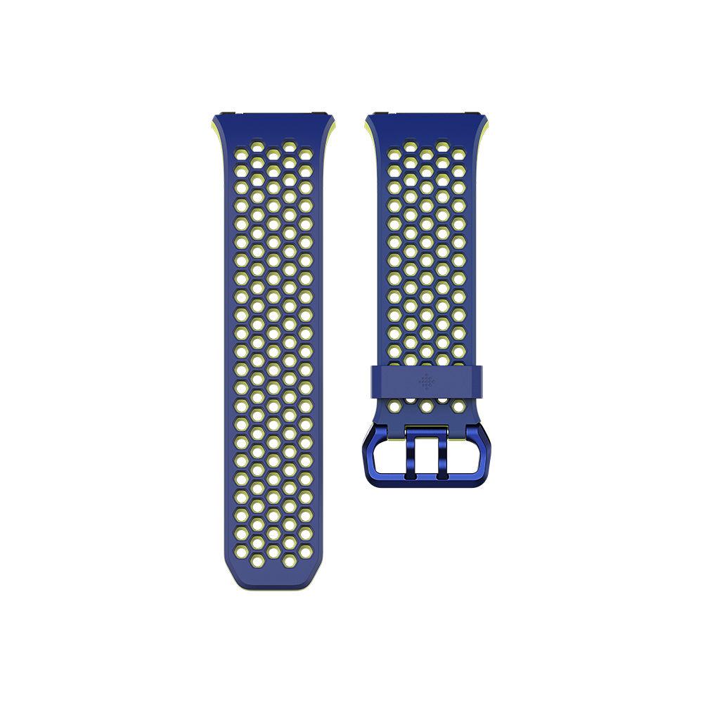 Image of Bracelet Fitbit Ionic Sport 2018 - Bleu - Jaune, Bleu - Jaune