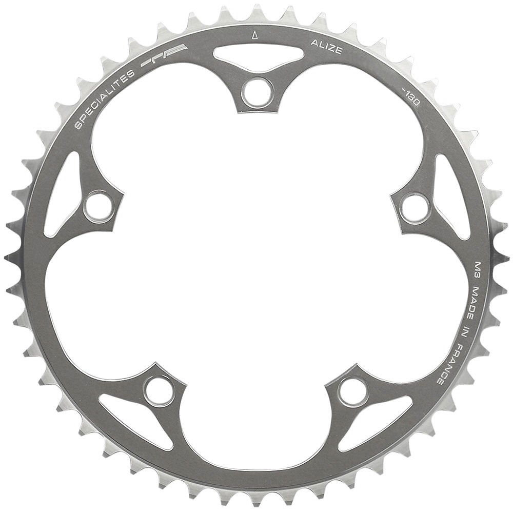 Ta 130 Pcd Alize Outer Chainrings (50-53t) - Silver - 5-bolt  Silver