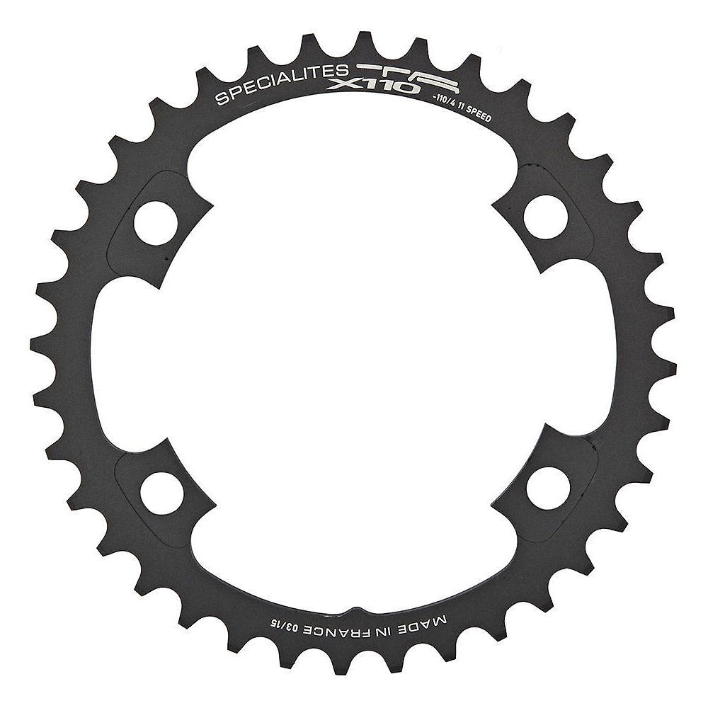 Ta 110x Inner Chainring For Ultegra6800 - Black - 4-bolt  Black