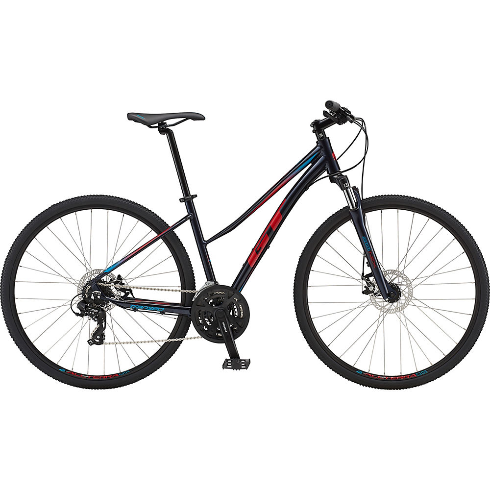 GT Transeo Comp Easy Entry Bike 2019 – Ink Blue, Ink Blue