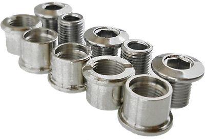 TA Alloy Double Chain Ring Bolts Set of 5 - Gold, Gold | klingebolt