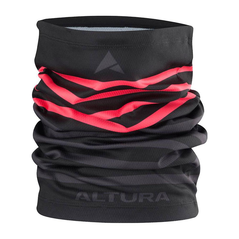 Altura Neck Warmer - Black-grey - One Size  Black-grey