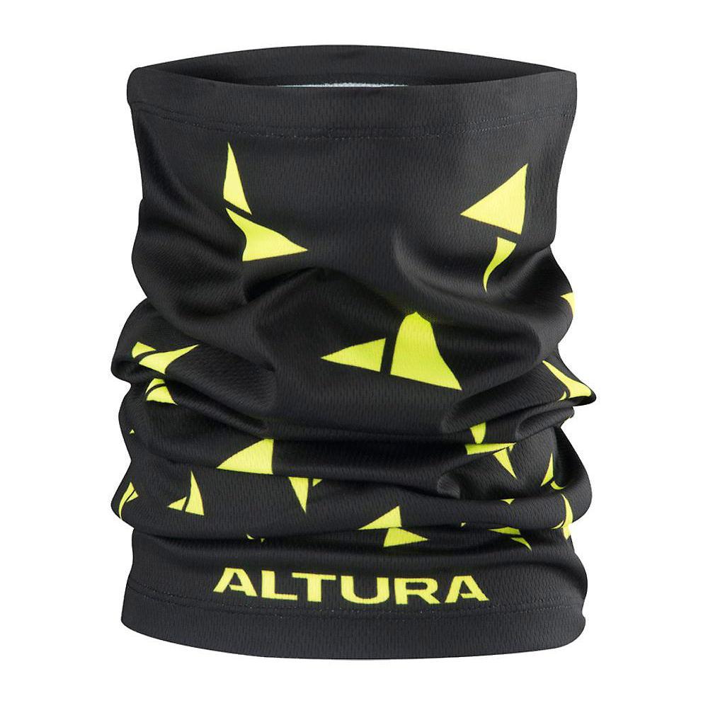 Altura Neck Warmer - Black-hi-viz Yellow - One Size  Black-hi-viz Yellow