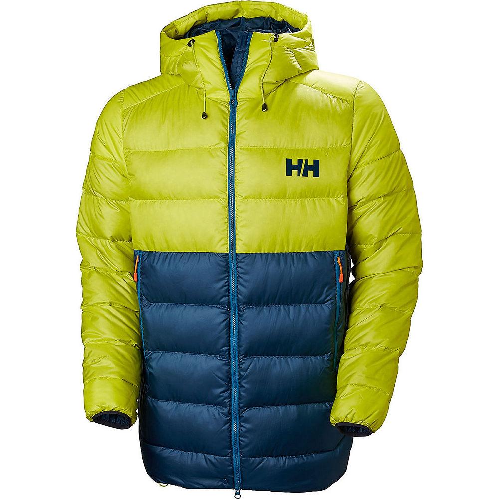 helly hansen vanir glacier down jacket - sweet lime