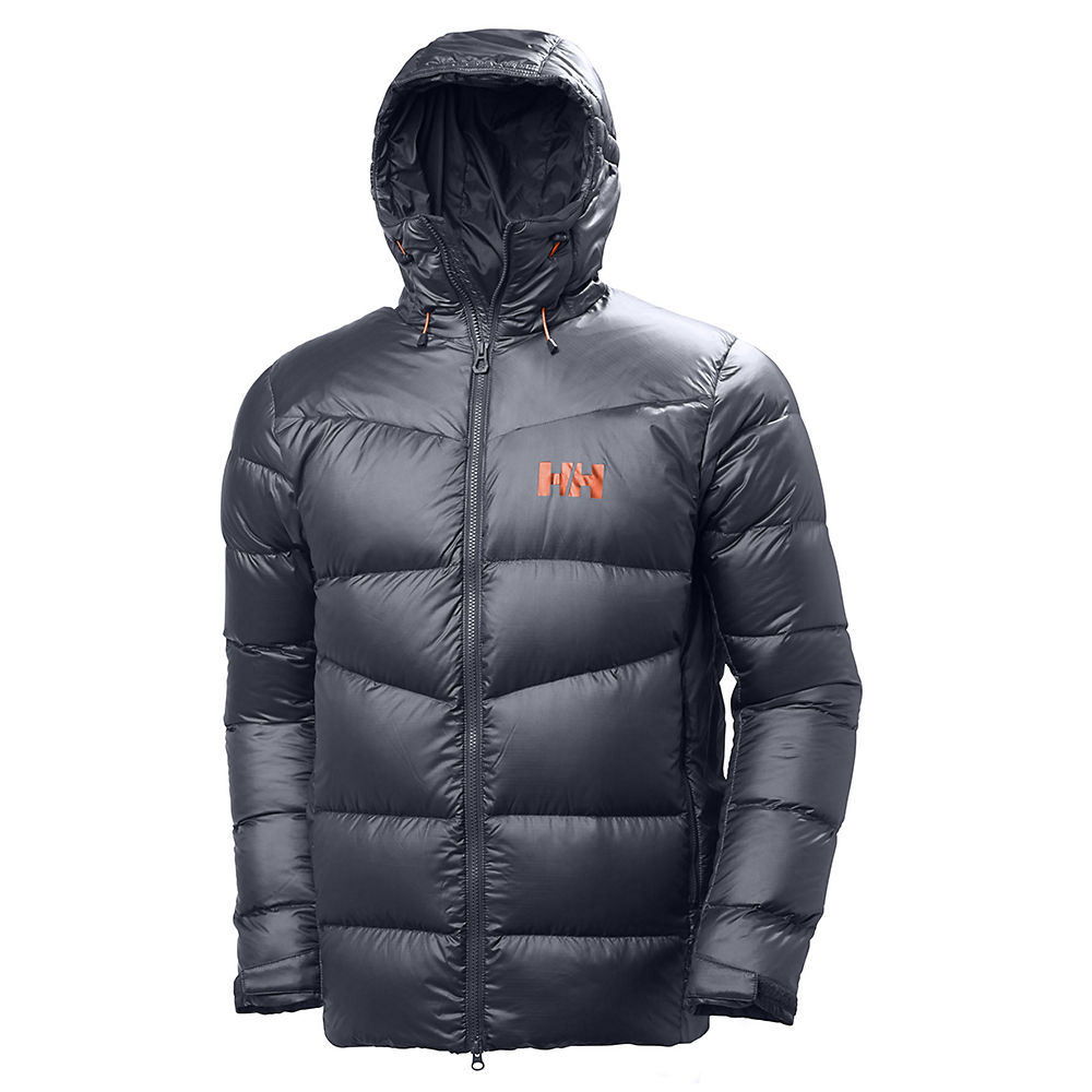 helly hansen vanir icefall down jacket  - xl - graphite blue