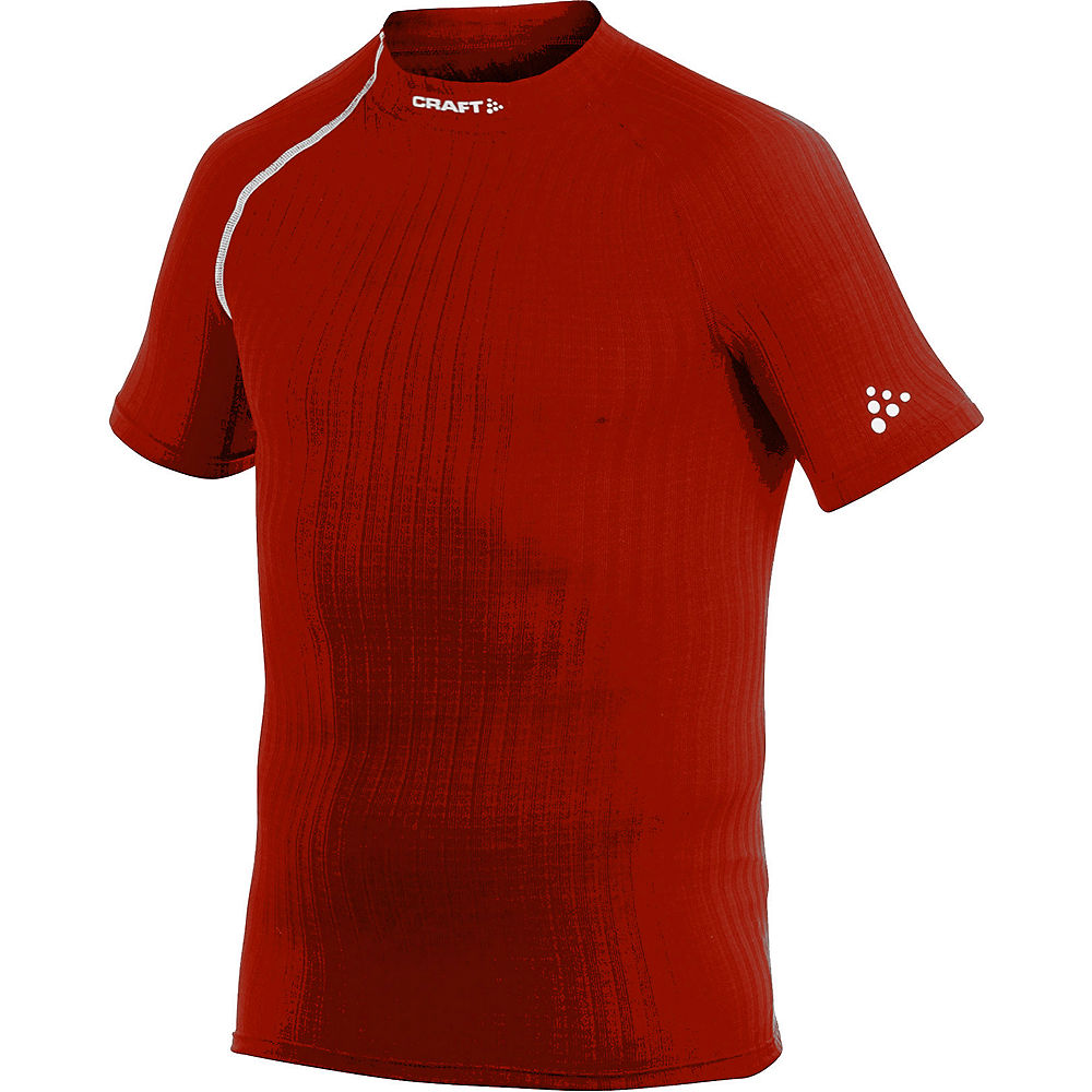 Craft Active Extreme Cn Ss Base Layer - Bright Red  Bright Red