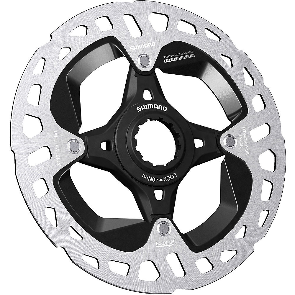 Shimano XTR M900 Ice Tech Freeze CL Disc Rotor - Black - 140mm, Black