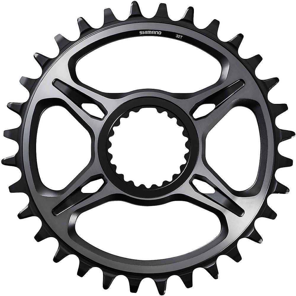 Shimano XTR CRM95 Single Chainring - Grey - Direct Mount, Grey