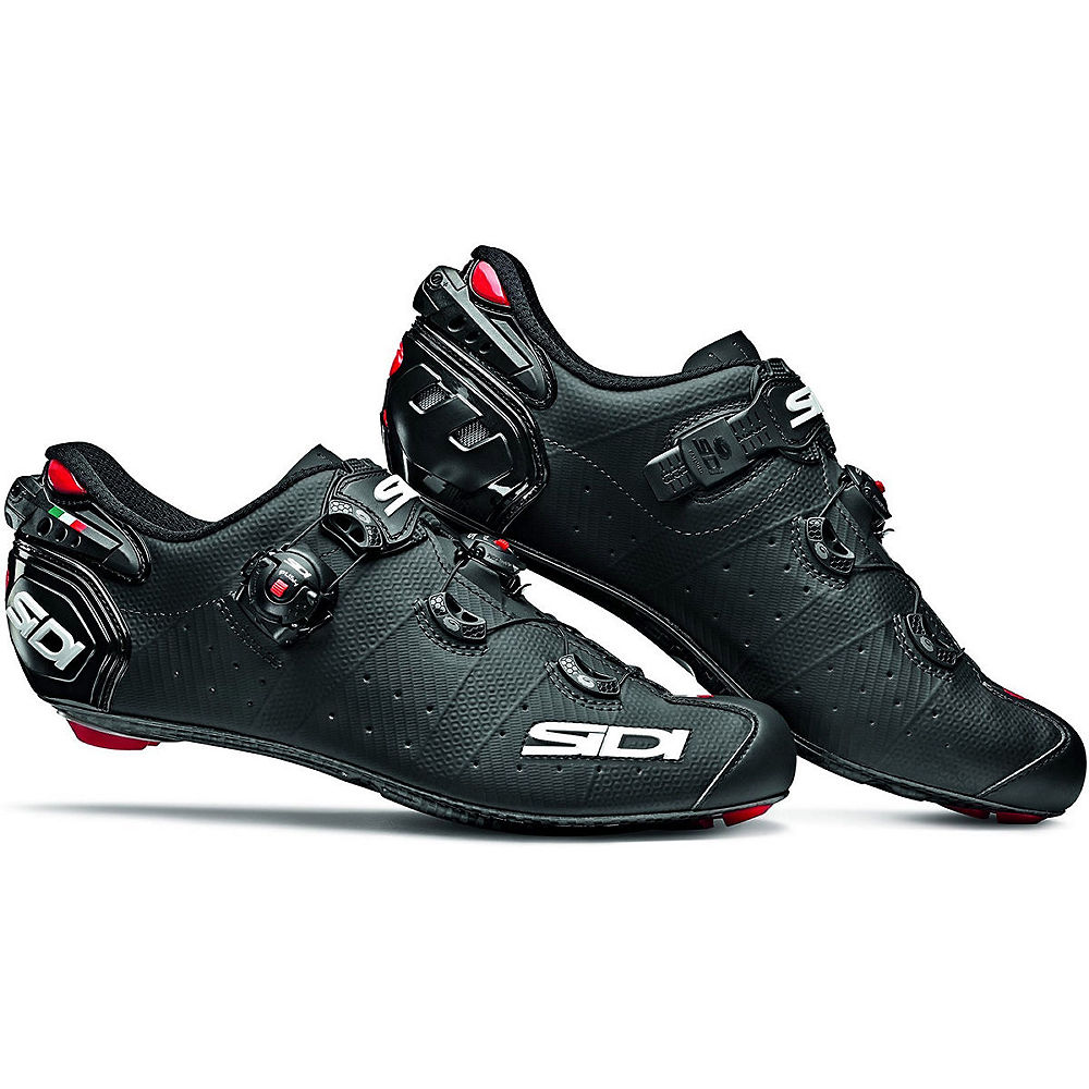 Sidi Wire 2 Carbon Matt Road Shoes 2019 - Negro mate - EU 45, Negro mate
