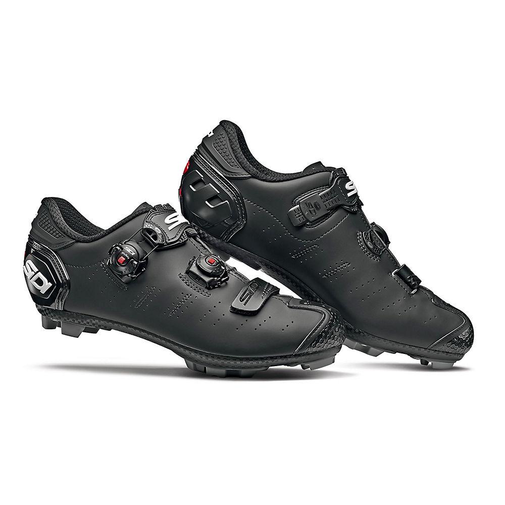 Sidi Dragon 5 Srs Matt Mtb Shoes 2019 - Matt Black - Eu 46  Matt Black