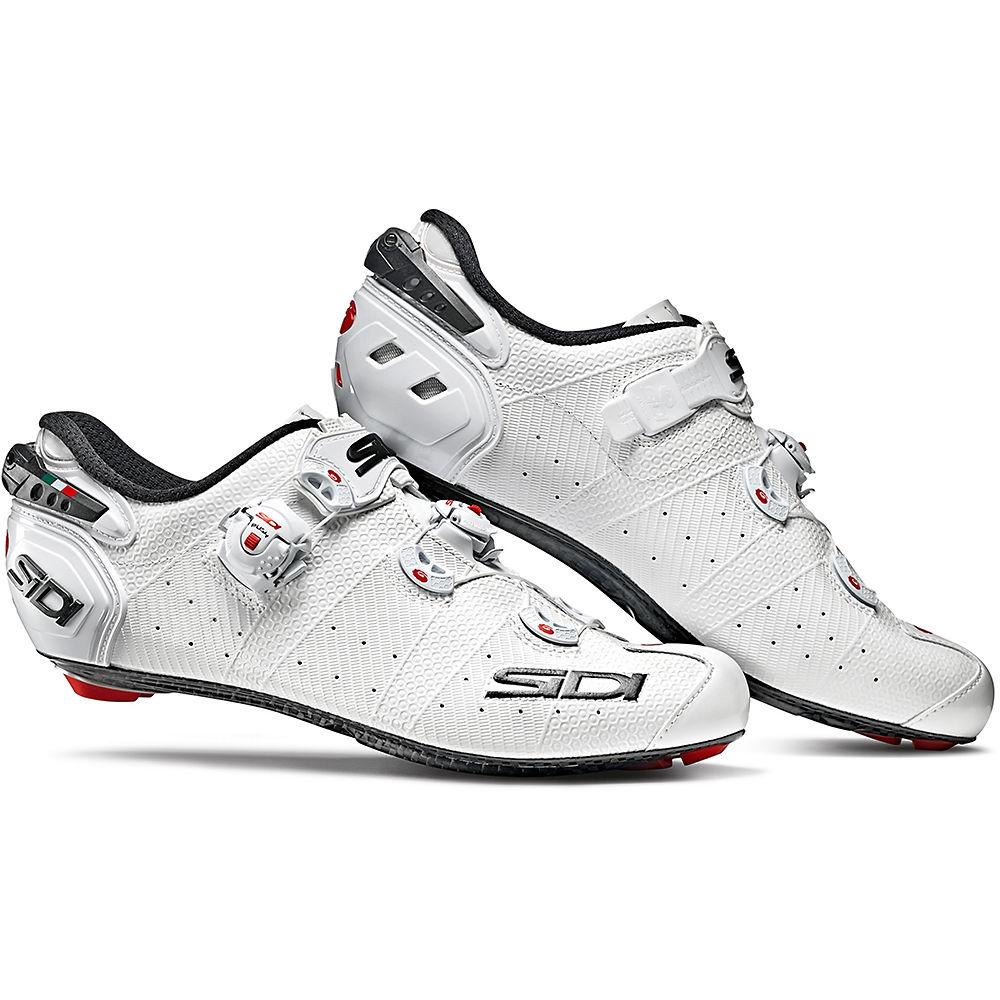 Image of Chaussures de route Femme Sidi Wire 2 (carbone) 2019 - Blanc/Blanc - EU 38, Blanc/Blanc