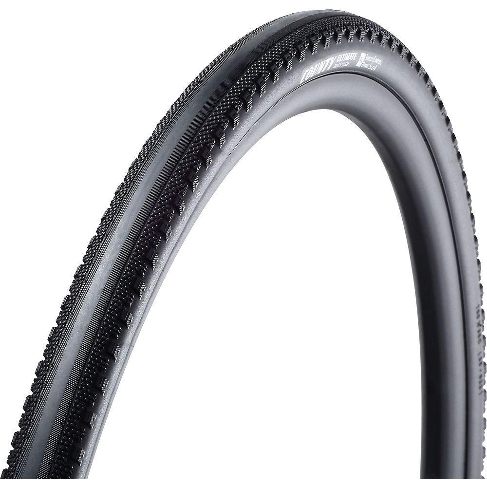 Image of Goodyear County Premium Tubeless Cyclocross Tyre - Noir - Folding Bead, Noir
