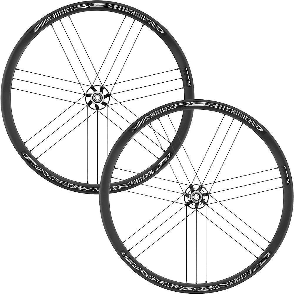 Campagnolo Scirocco Db Bt12 Road Wheelset (2019) - Black - Shimano  Black