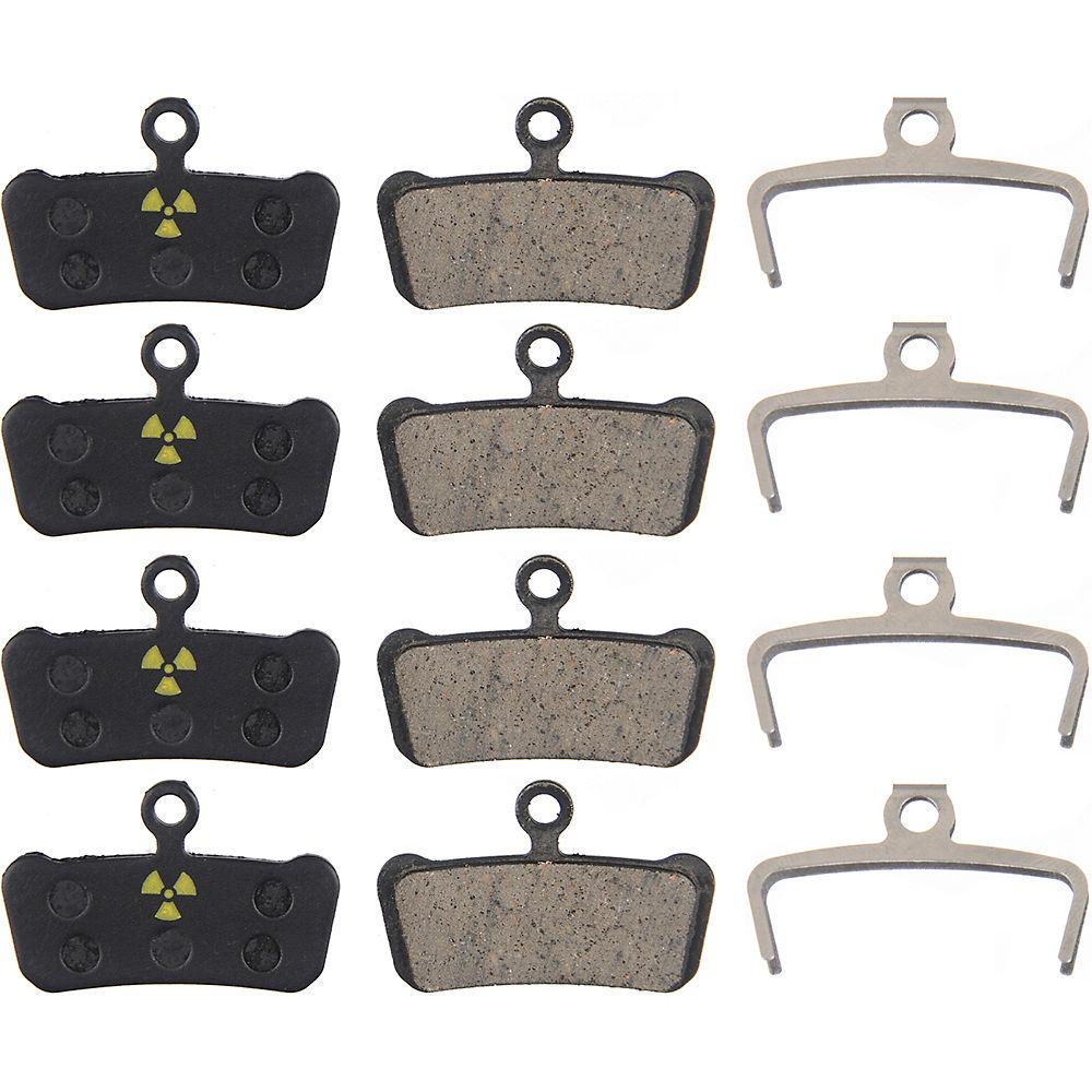 Nukeproof Avid Sram X0 Trail Guide Brake Pads (4) - Black - Organic  Black