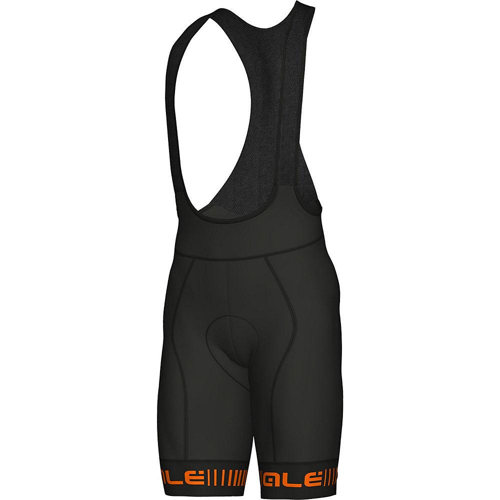 Al Aero Overshoes - Black-fluro Orange  Black-fluro Orange