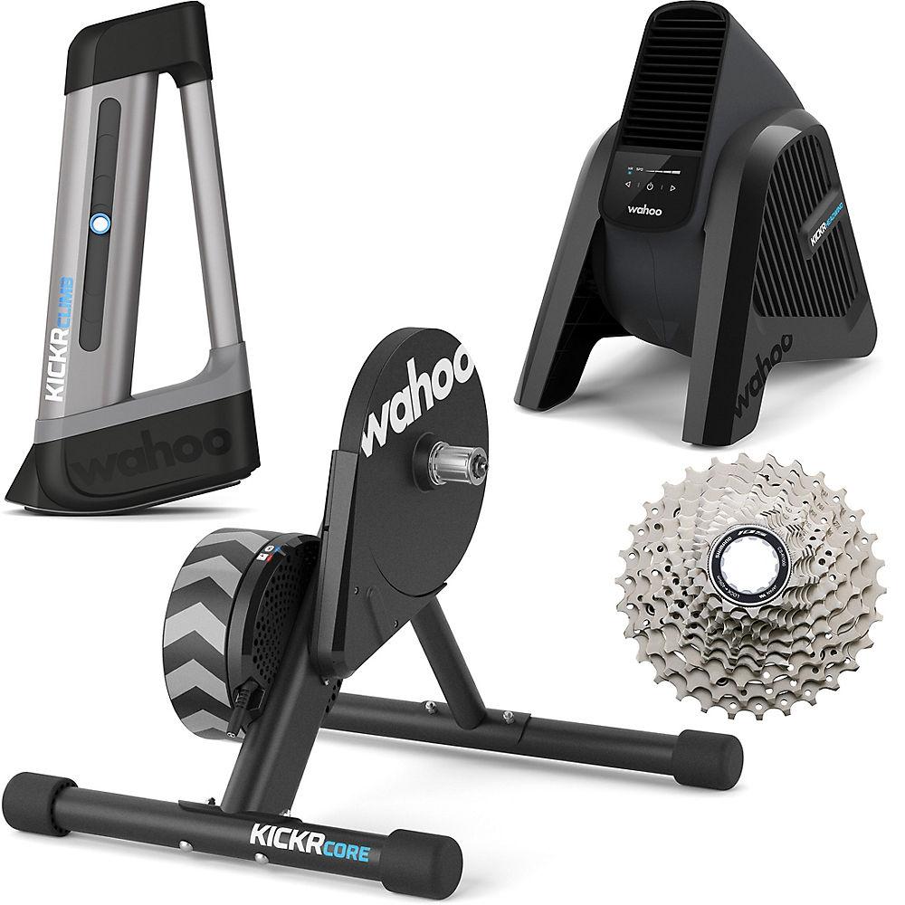 Wahoo KICKR Core, Climb & Headwind Bundle Noir Chainreactioncycles