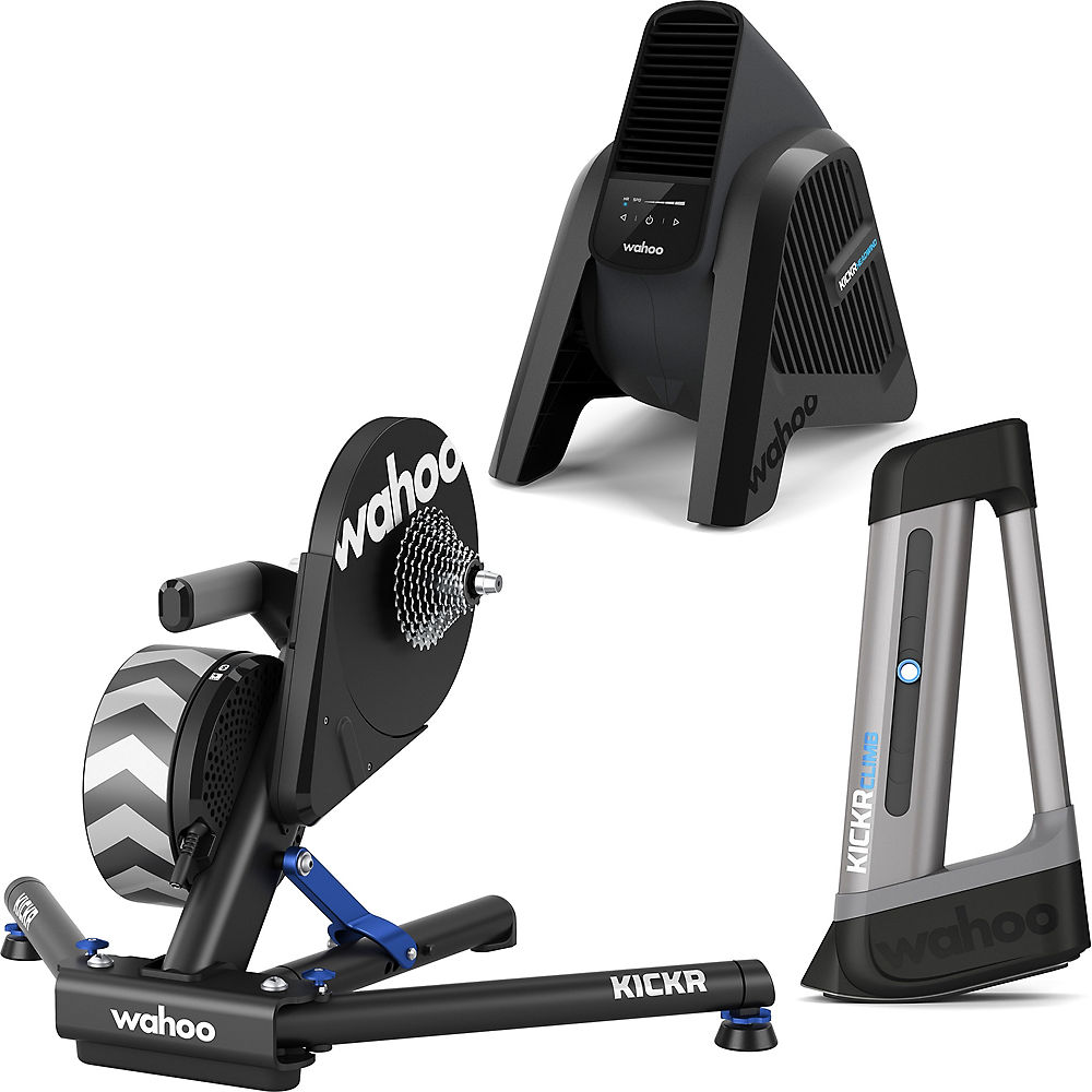 Wahoo KICKR, Climb & Headwind Bundle Noir Chainreactioncycles