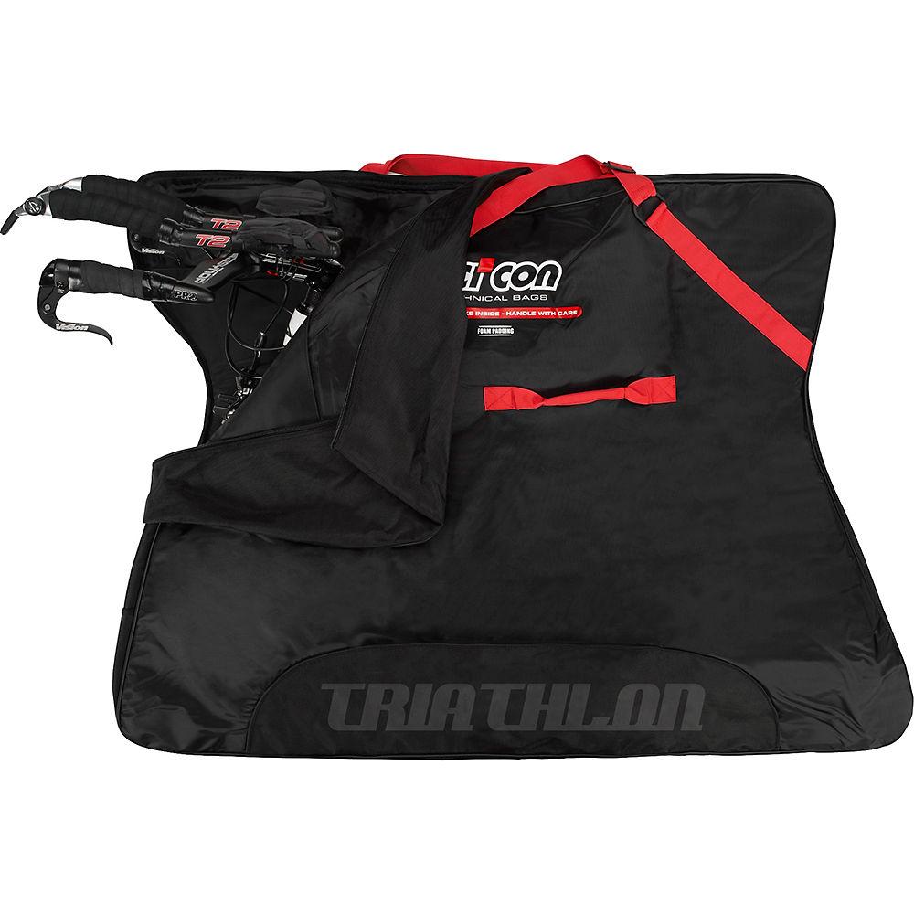 Scicon Soft Bike Bag Travel Plus - Negro - MTB, Negro