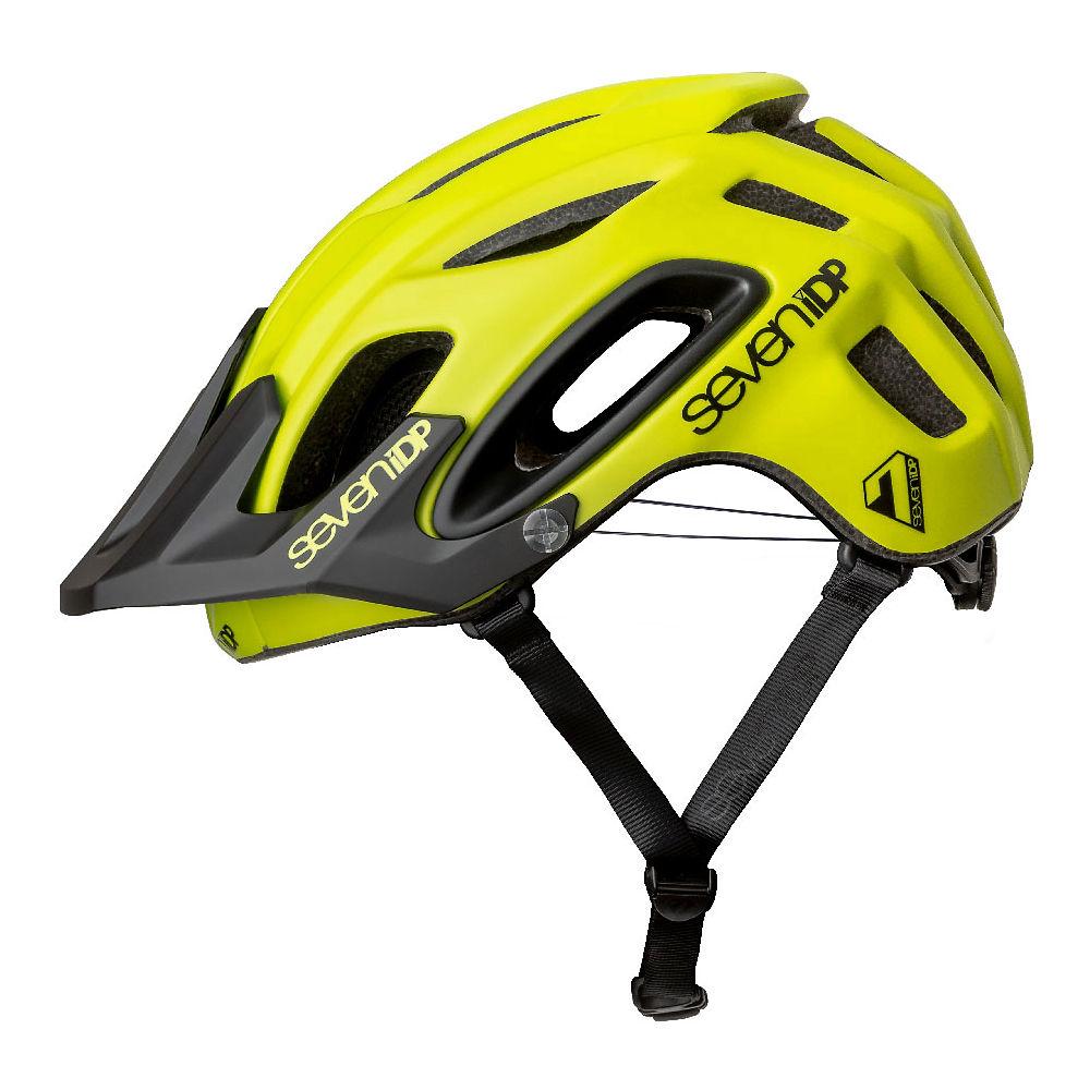 7 iDP M2 BOA Helmet 2019 - Matte Acid Yellow-Black - M/L, Matte Acid Yellow-Black