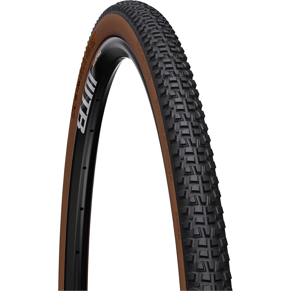 WTB Cross Boss Light Fast Rolling Tyre - Black - Tan Sidewall - Folding Bead, Black - Tan Sidewall