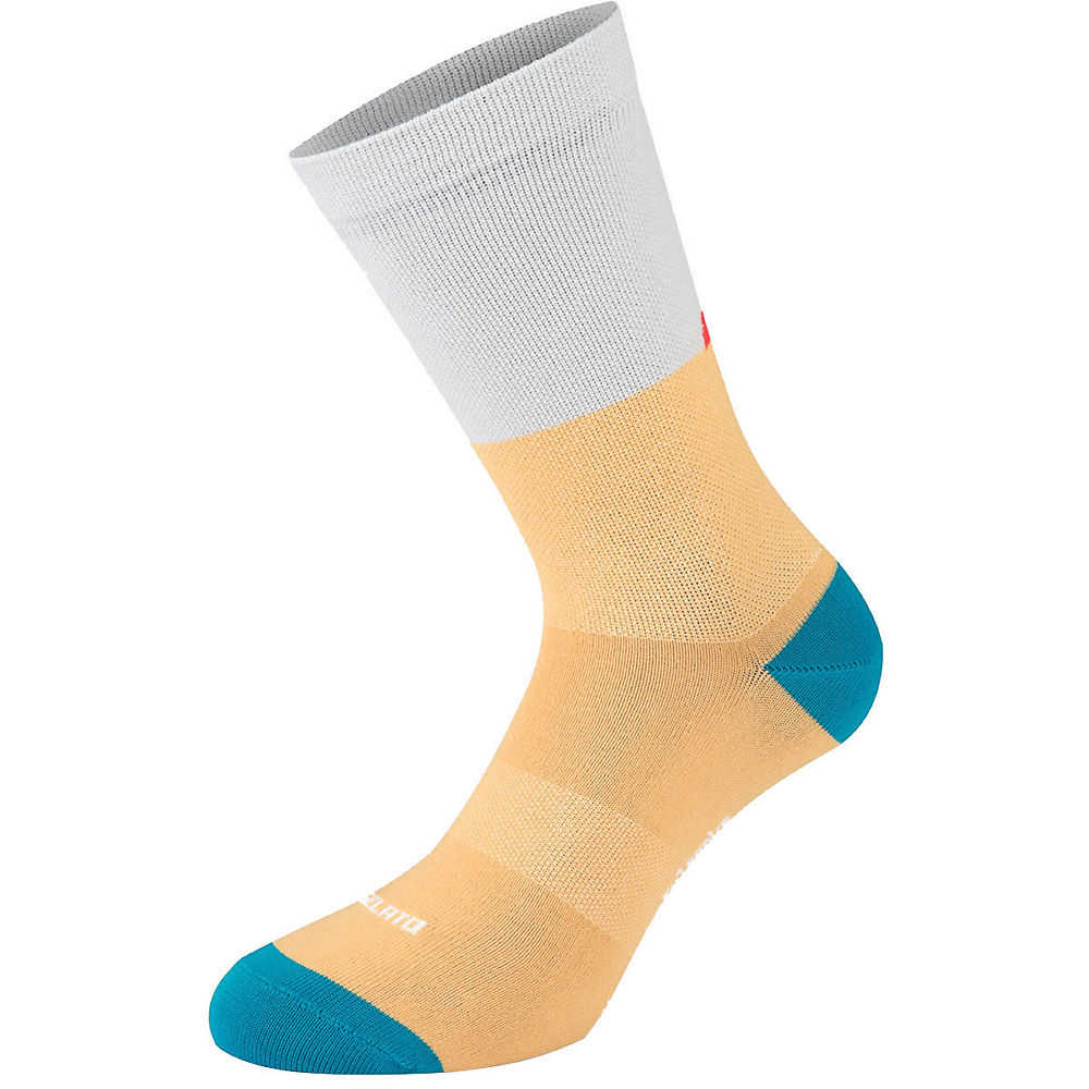 The Wonderful Socks Gelato Socks  - White-yellow  White-yellow