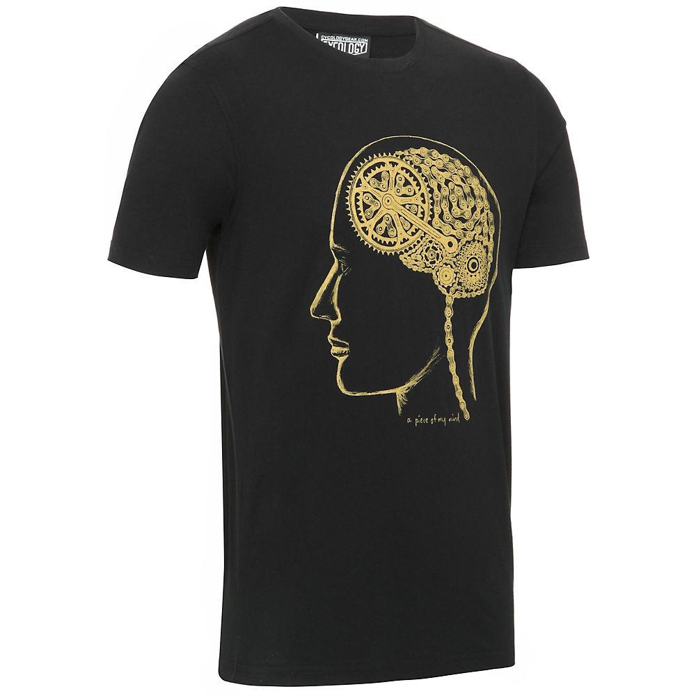 Image of Cycology Bike Brain T-shirts - Noir - M, Noir