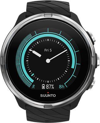 Suunto 9 GPS Multisport Watch 2018 - Negro