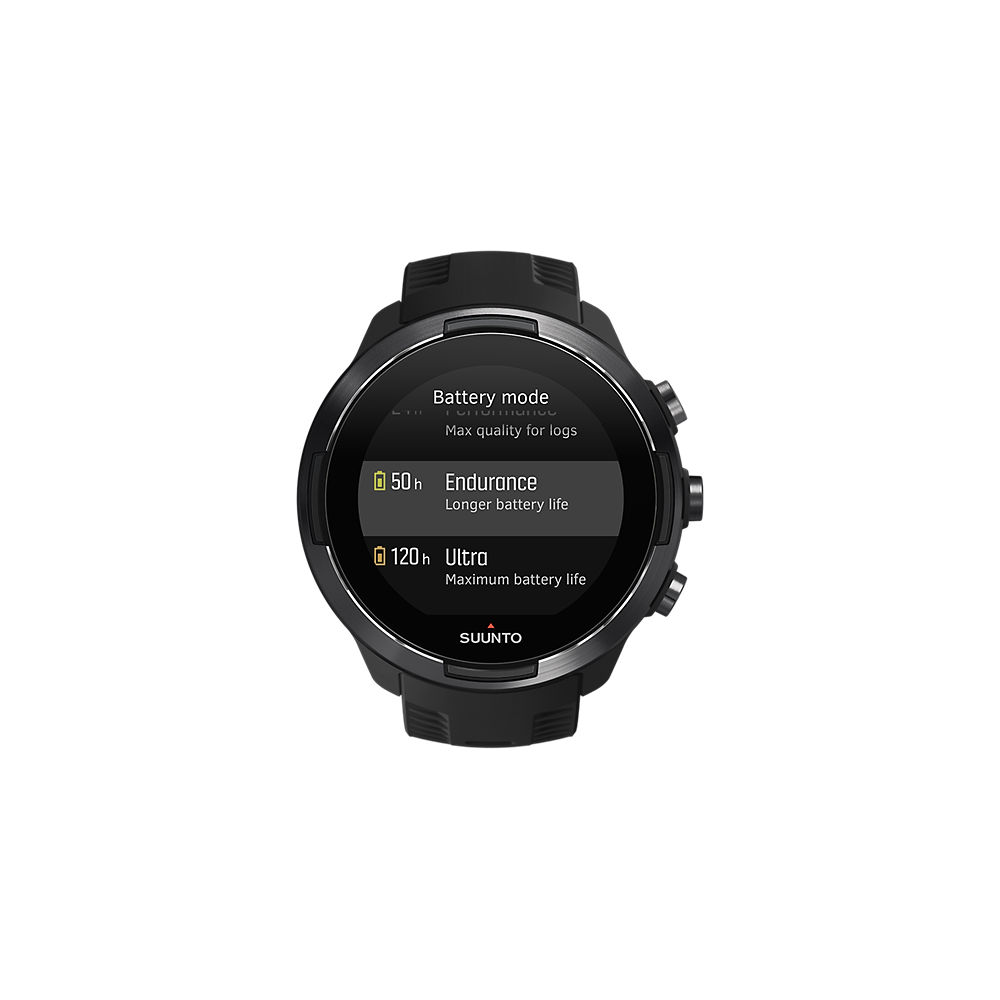Suunto 9  Baro Titanium GPS Multisport Watch - Negro, Negro