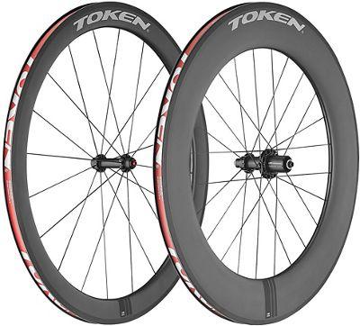 Token C590 Carbon Clincher TT Wheelset - Juegos de ruedas