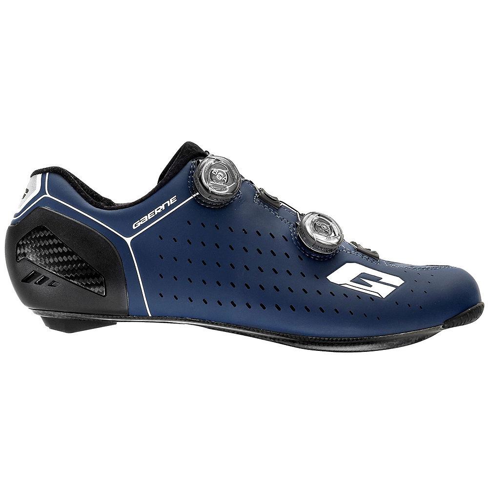 Image of Gaerne Carbon Stilo+ SPD-SL Road Shoes - Blue - EU 41.5, Blue