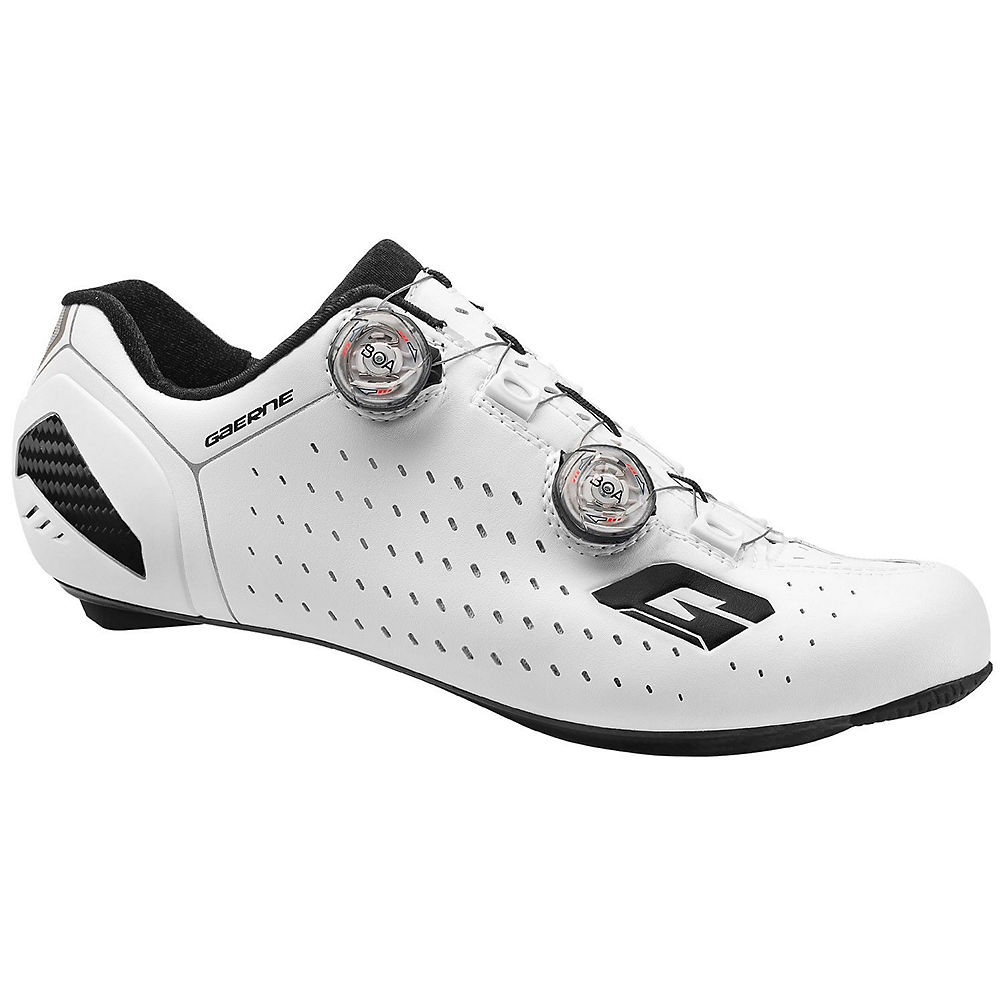 Image of Chaussures de route Gaerne Stilo+ SPD-SL (carbone) - Blanc - EU 40, Blanc