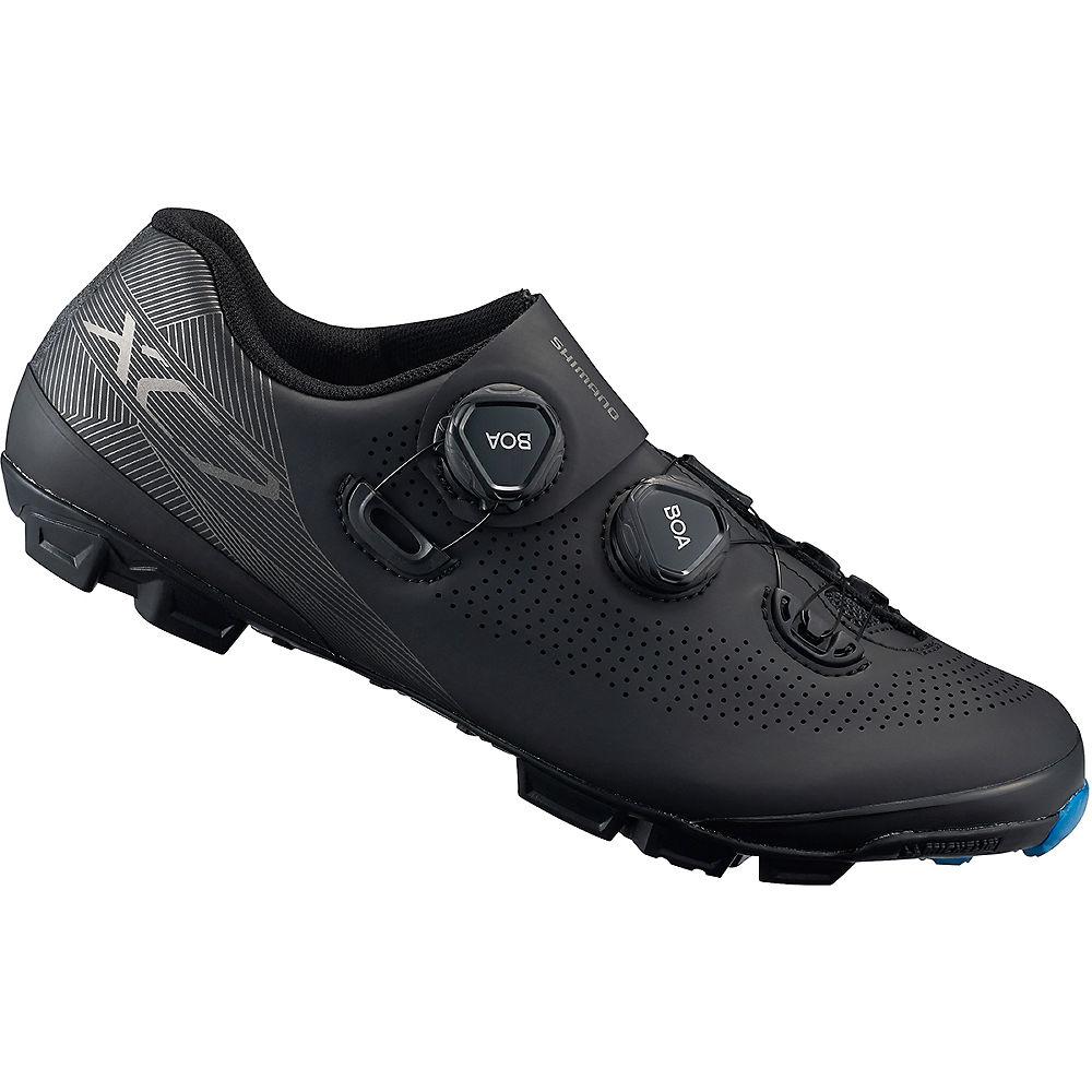 Shimano Xc7 (xc701) Carbon Mtb Spd Shoes 2019 - Black - Eu 44  Black