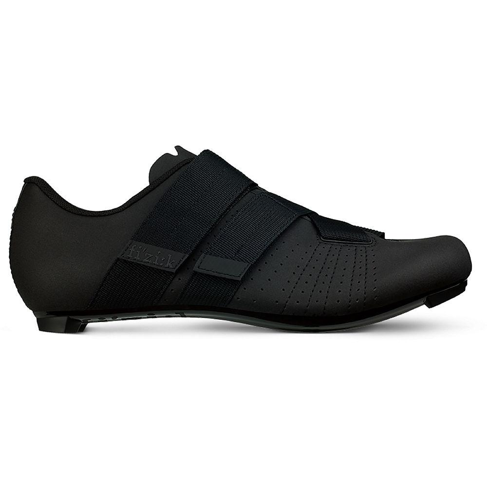 Image of Fizik R5 Tempo Powerstrap Road Shoes - Black / EU47