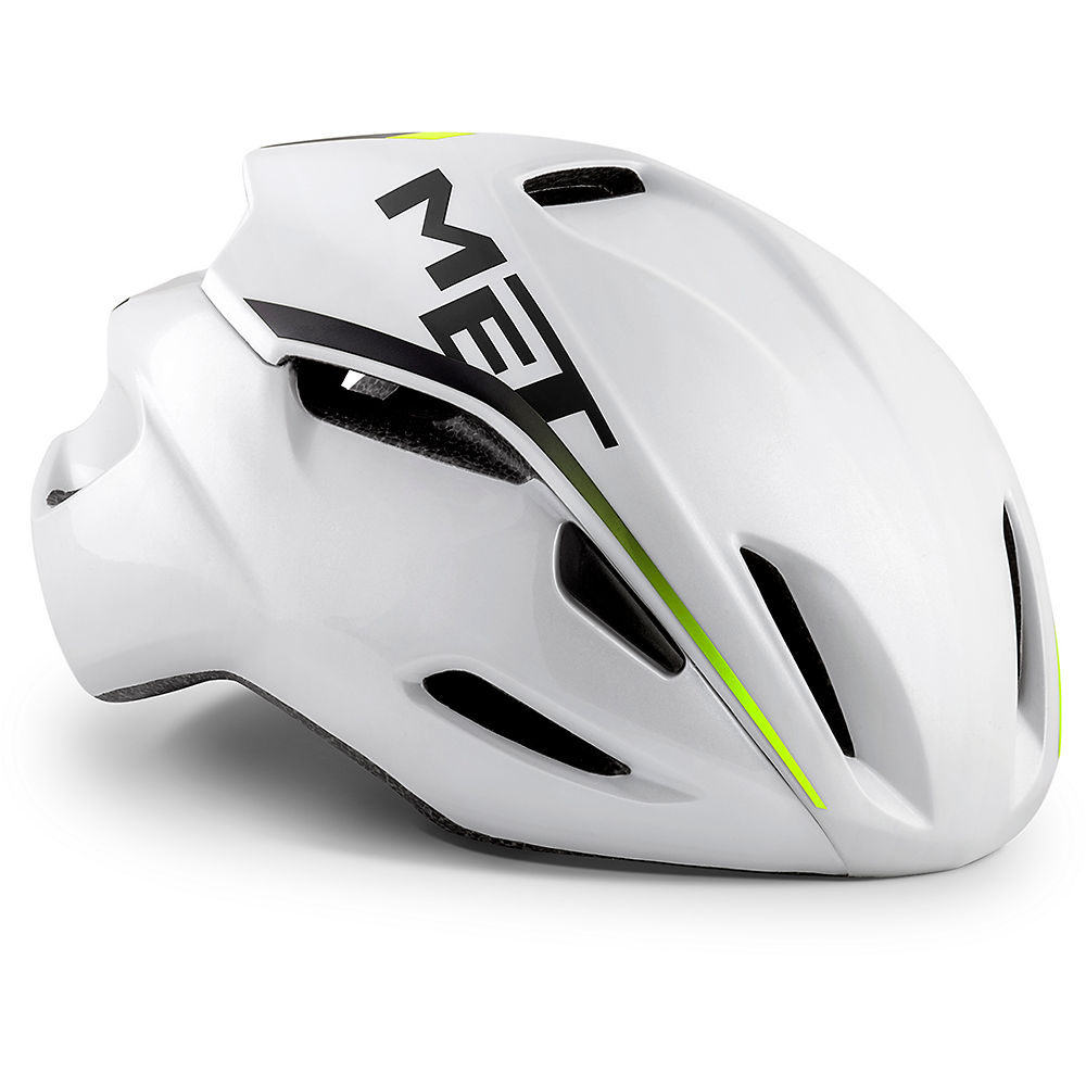 Image of Casque de route MET Manta 2019 - White Pearlescent, White Pearlescent