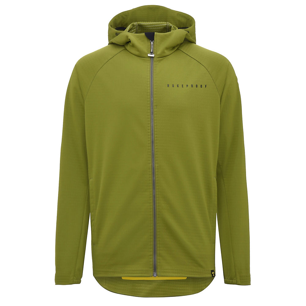Nukeproof Blackline Softshell Jacket – Olive Green – M, Olive Green