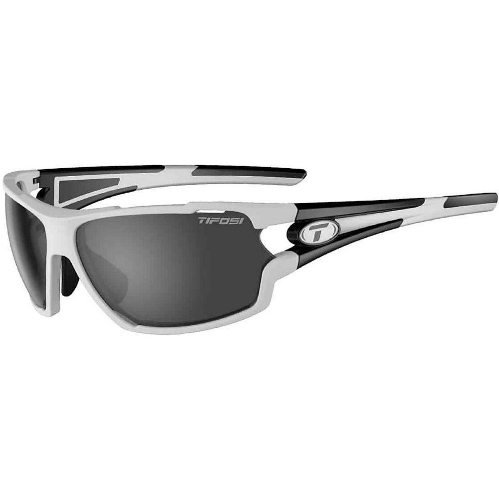 Tifosi Eyewear Amok Interchangeable Lens Sunglasses 2019 - bianco - nero, bianco - nero