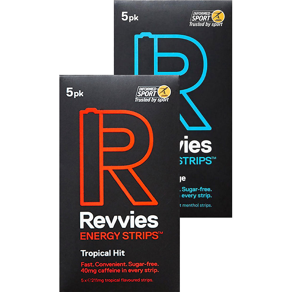 Image of Revvies Revvies Energy Strips Sampler ( 6 x 5PK) - 6 x 5 Pack