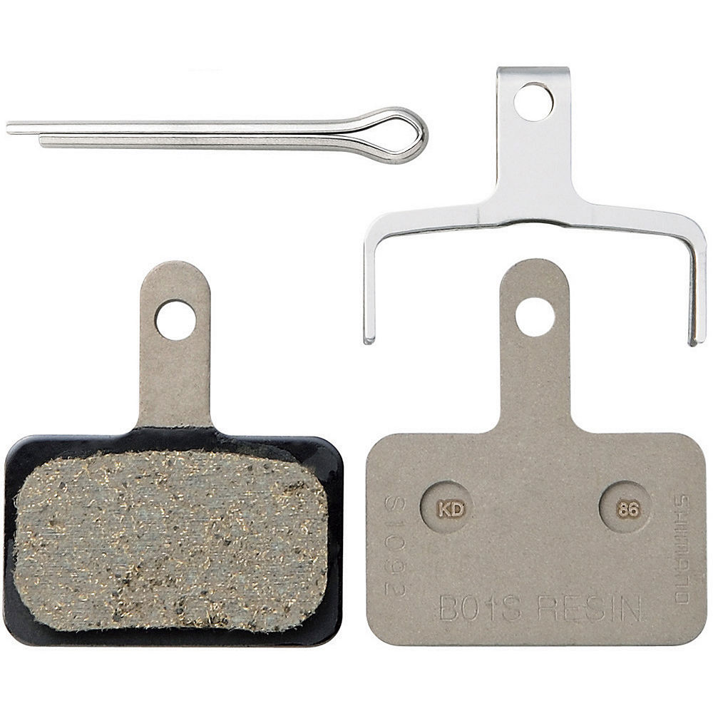 Shimano B01S Resin Disc Brake Pads - Black, Black