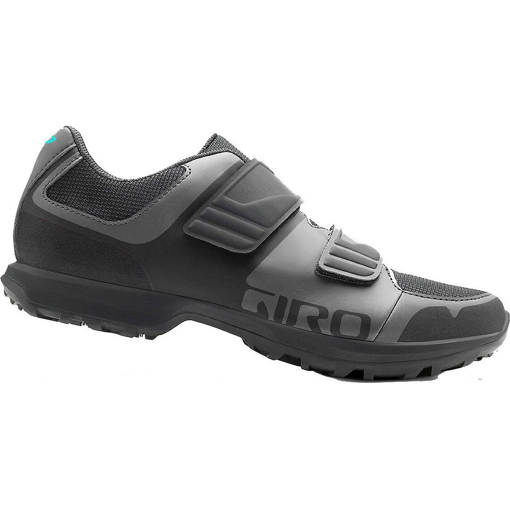Giro Womens Berm Off Road Shoes - Ti-dark Shadow 19 - Eu 41  Ti-dark Shadow 19