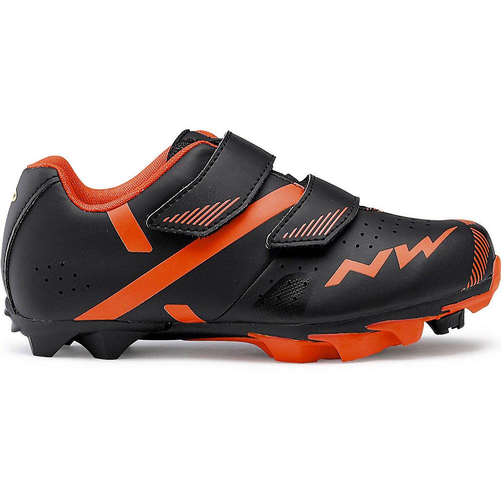 Northwave Hammer 2 Junior MTB Shoe 2019 - BLACK-RED - EU 38, BLACK-RED
