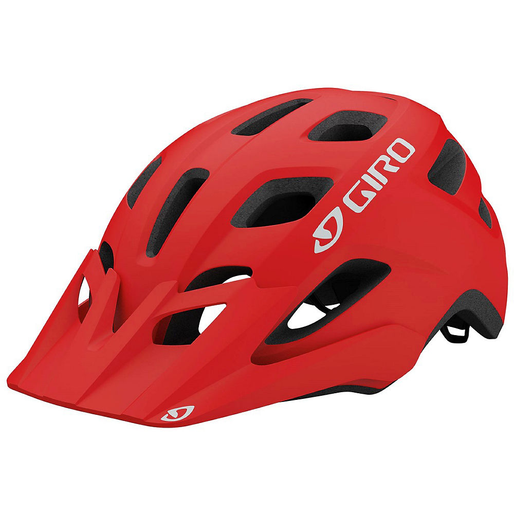 Giro Fixture Mtb Helmet 2019 - Matte Trim Red - One Size  Matte Trim Red
