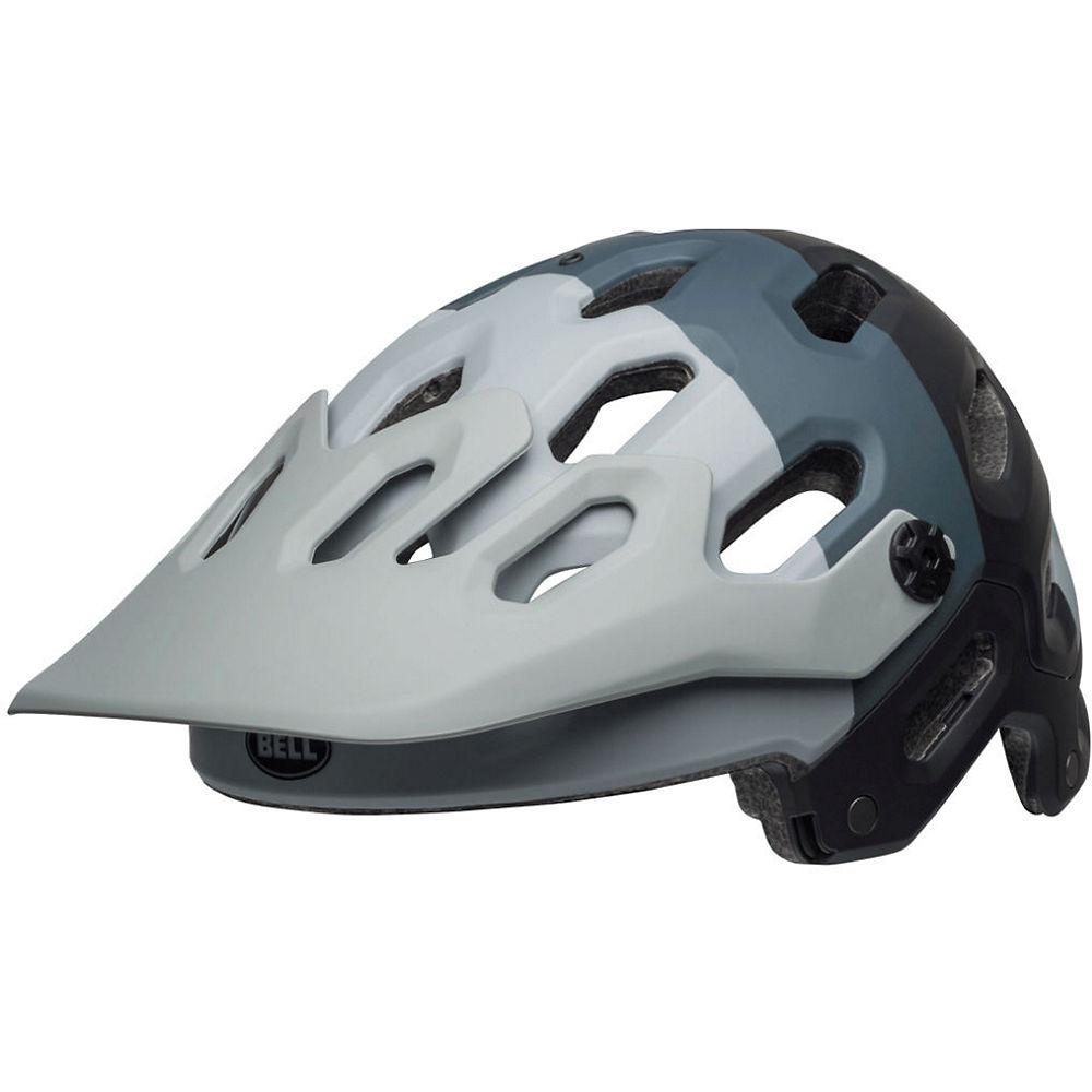 Bell Super 3 Helmet 2019 – Downdraft Matte Grey 20, Downdraft Matte Grey 20