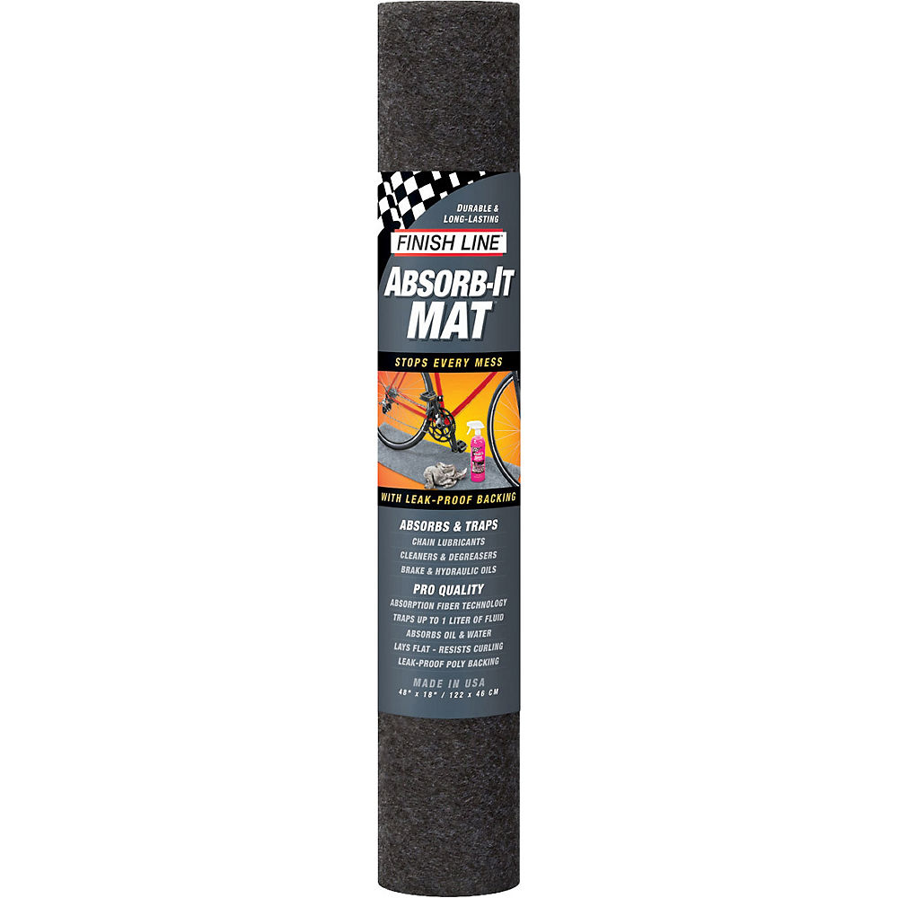 "Image of Finish Line Absorb-It Mat - Large 60"" x 36"", n/a"