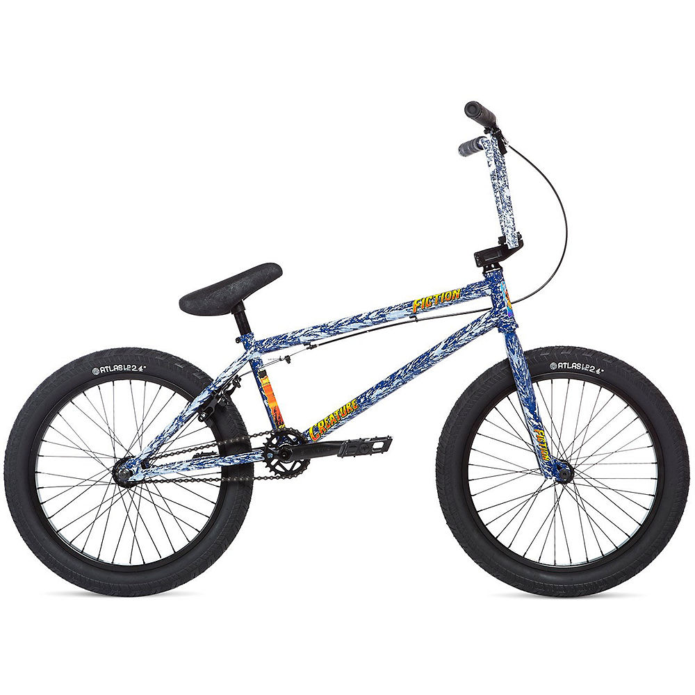 """Image of BMX Stolen x Fiction Creature 2020 - Angry Sea Blue - 21"""", Angry Sea Blue"""