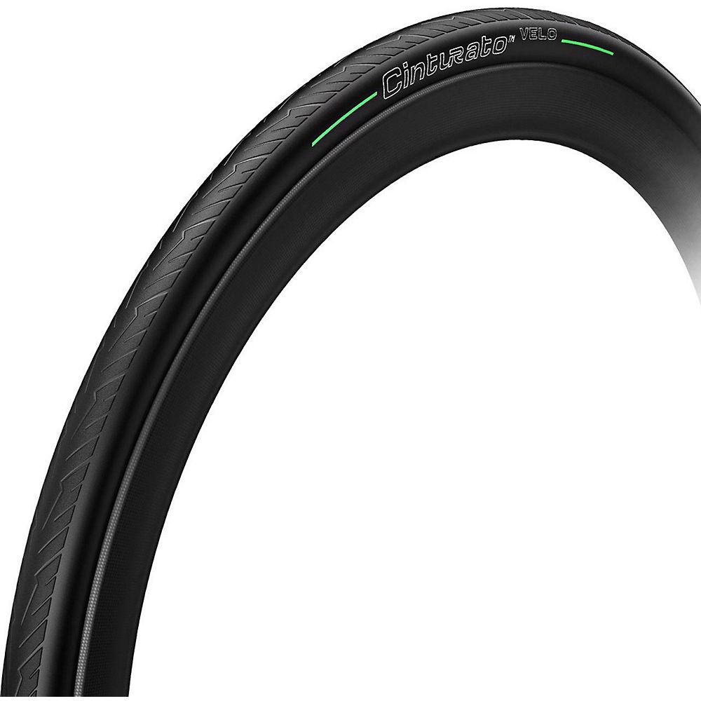 Pirelli Cinturato Velo TLR Road Tyre - Negro - Tubeless, Negro