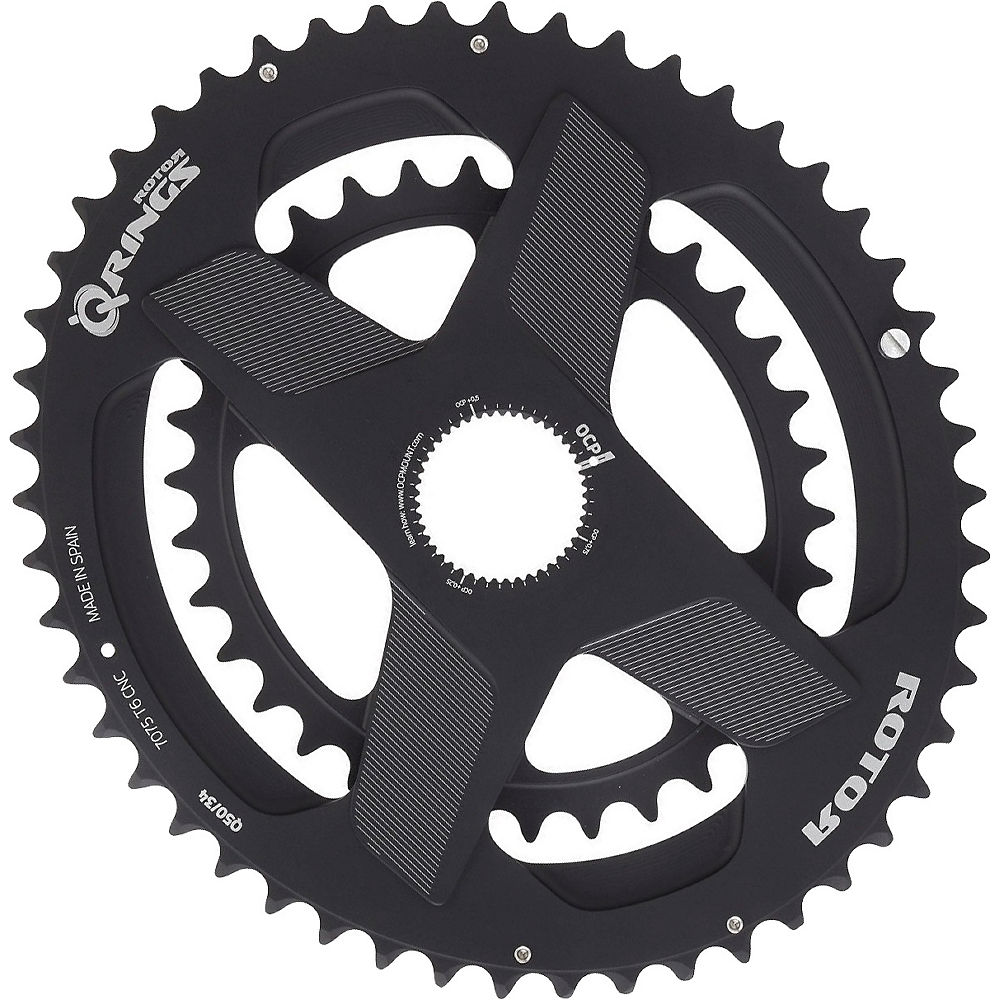 ComprarRotor Q Rings DM Oval Chainrings - Negro - 52.36t, Negro