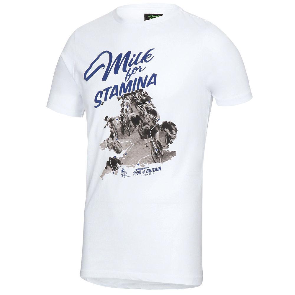 Image of Stolen Goat Stamina T-Shirt - Blanc, Blanc